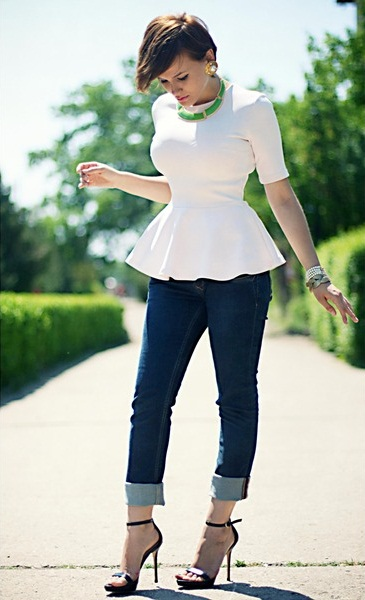 El Top peplum, la tendencia low cost